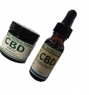 CBD salve and tincture combo, boot ranch farms